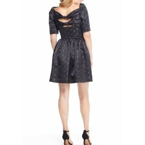 Gal Meets Glam Dresses - Gal Meets Glam Maude Black Satin Babydoll Dress